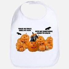Dachshund Halloween (Black & Tan) Bib