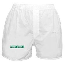 Booger Branch Road, Six Mile (SC) Boxer Shorts