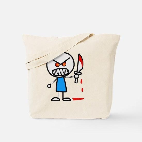 Unique Psychotic Tote Bag