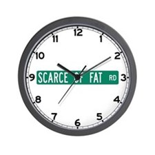 Scarce Of Fat Road, Nashville (IN) Wall Clock