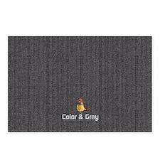 Chick Herringbone Pattern Postcards (Package of 8)