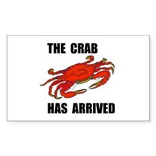 CRAB Rectangle Decal