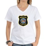 Newark Police Women's V-Neck T-Shirt