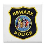 Newark Police Tile Coaster