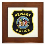 Newark Police Framed Tile