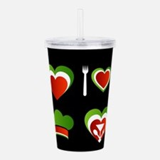 Funny Catering Acrylic Double-wall Tumbler
