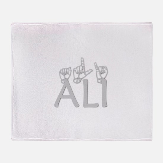 Ali Throw Blanket
