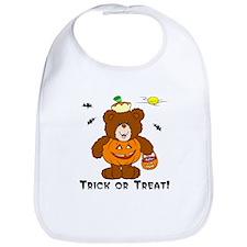 Trick or Treat Teddy :: Bib