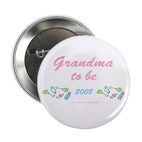 Grandma 2 Be 2008 Button