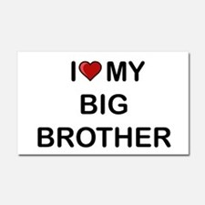 Cute Brother Car Magnet 20 x 12