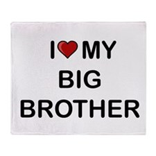 Cute Brother Throw Blanket