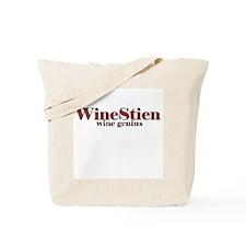 WineStien = Wine Genius Tote Bag