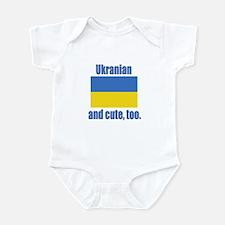 Cute Ukranian Infant Bodysuit