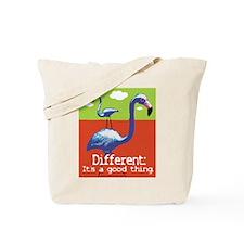 A Different Flamingo Tote Bag
