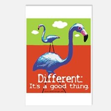 A Different Flamingo Postcards (Package of 8)