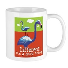 A Different Flamingo Mug