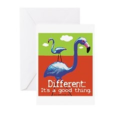 A Different Flamingo Greeting Cards (Pk of 20)