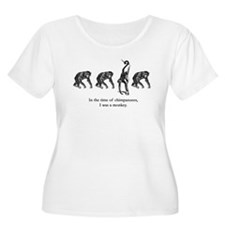 """In the Time of Chimpanzees"" T-Shirt"