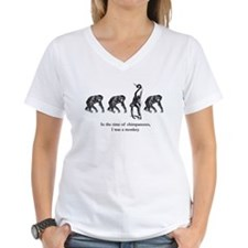 """In the Time of Chimpanzees"" Shirt"