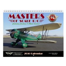 Masters Of Scale R/c 2016 Wall Calendar