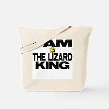 I AM THE LIZARD KING Tote Bag