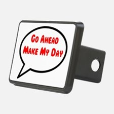 Go Ahead Make My Day Hitch Cover