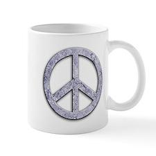 Marble Texture Peace Sign Mug
