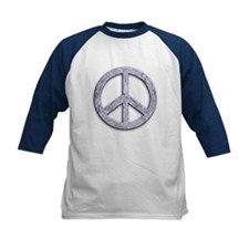 Marble Texture Peace Sign Tee