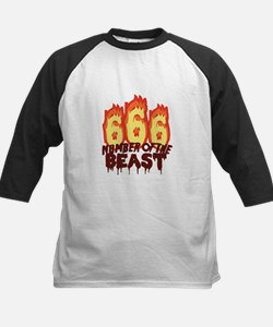 Number Of Beast Baseball Jersey