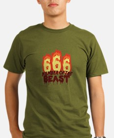 Number Of Beast T-Shirt