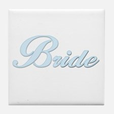 Bride (Blue) Tile Coaster