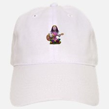 Hippy Chick ~ Peace and Love Baseball Baseball Cap