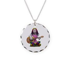Hippy Chick ~ Peace and Love Necklace
