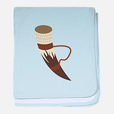 Viking Horn baby blanket