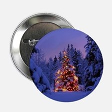 """Christmas Tree With Lights 2.25"""" Button (10 pack)"""