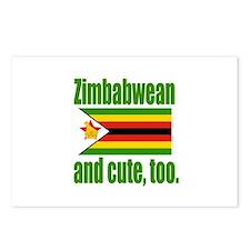 Cute Zimbabwean Postcards (Package of 8)