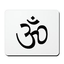 Aum Sign - Aum Symbol Mousepad