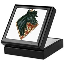 Black Arabian Keepsake Box