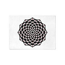 108 Eyes Mandala 5'x7'Area Rug