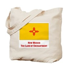 New Mexico State Flag Tote Bag