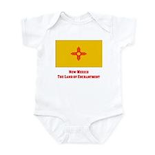 New Mexico State Flag Infant Bodysuit