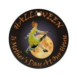 MOTHER IS A WITCH Ornament (Round)