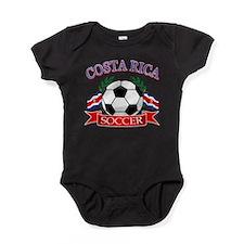 Cute Costa rica Baby Bodysuit