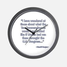 President Reagan on Moses VS. Congress Wall Clock