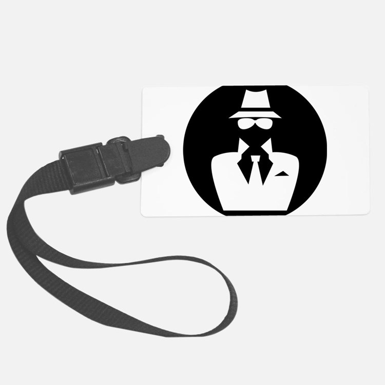 white hat hacker GRAPHICS Luggage Tag