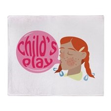 Childs Play Throw Blanket
