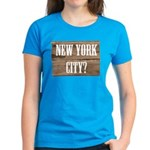 New York City? Women's Dark T-Shirt