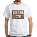 New York City? White T-Shirt