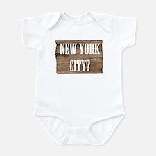 New York City? Infant Bodysuit