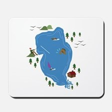 Lake Scene Mousepad
